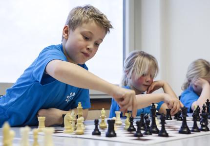Basisscholen achter schaakbord