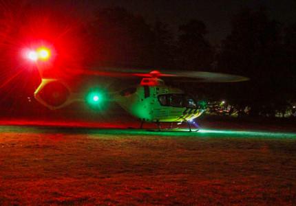 Waarom er vannacht een helikopter over Apeldoorn vloog