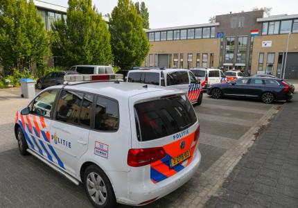 Vechtpartij op Jean Monnetpark zorgt voor grote politie inzet