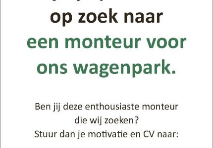 Jan van Zevenhuizen zoekt: