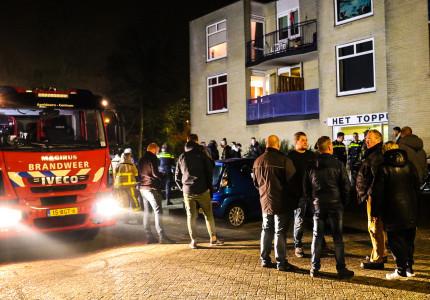 Bewoners korte tijd hun woning uit in verband brand
