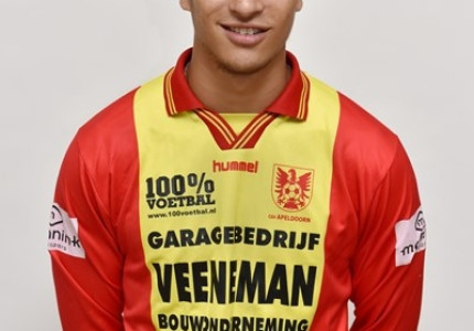 Jamarro Diks bezig aan zijn laatste seizoen bij csv Apeldoorn