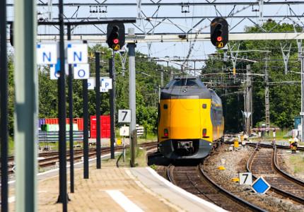 Geen treinverkeer tussen Apeldoorn, Deventer en Zutphen