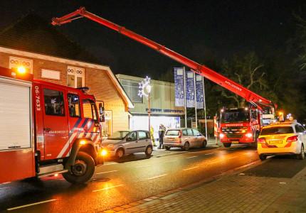 Schoorsteenbrand in Vaassen snel onder controle