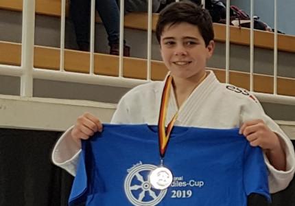 Judoka Pot wint zilver in Osnabrück