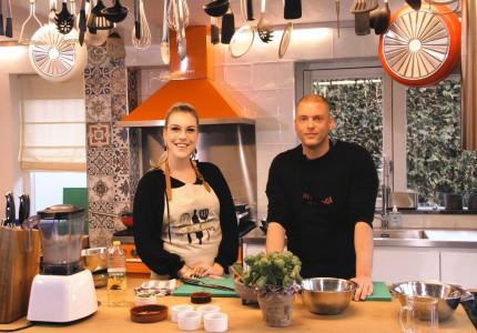 Koken met… Iris & Maik in de kookstudio van Koksland