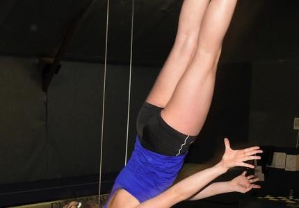 Pechvolle turnster vindt nieuwenuitdaging in trampolinespringen