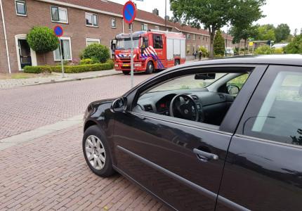 Koolmonoxidemelder gaat af; brandweer is snel ter plaatse