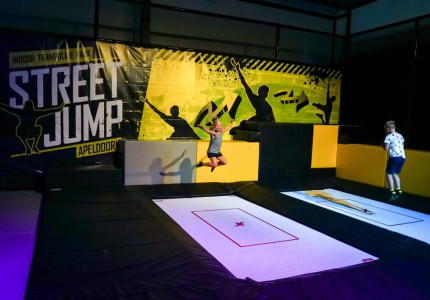 Freerun lessen van start bij indoor trampolinepark