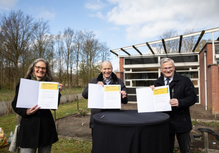 Provincie Overijssel: 'Groen draagt bij aan gezondheid'