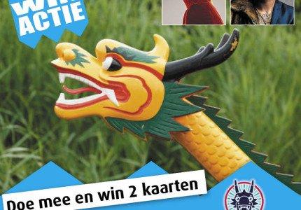 Win kaarten voor Drakenbootfestival Apeldoorn