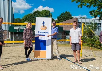 Rabobank steunt beachvolleyballers Alterno