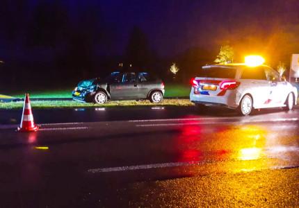 Twee gewonden na botsing in Warnsveld