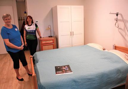 Partner kan nu slapen bij gast hospice Casa Vera in Epe