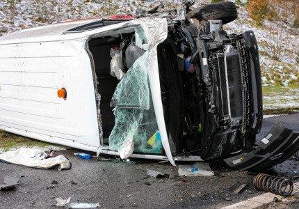 Meerdere ongevallen op de A1 bij Ugchelen