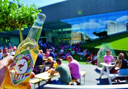Zon, gezelligheid en lekker eten tijdens de StadsOase