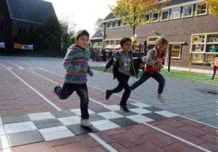 Gezond Schoolplein open bij Kindcentrum Rivierenwijk