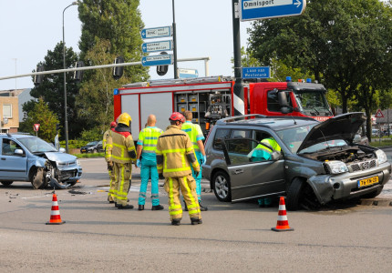 Gewonde bij ongeval Europaweg
