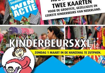 Win kaarten voor de grootste, gezelligste en leukste kinderbeurs van Nederland