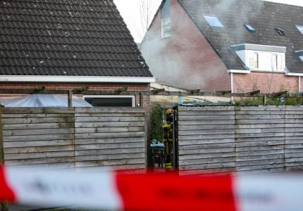 Veel rookontwikkeling bij woningbrand in Apeldoorn