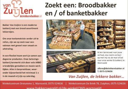 Broodbakker en/ of banketbakker