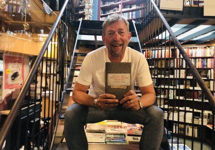 Harm Edens boeksignering op zondag 27 juni in Zutphen
