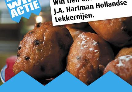 Win oliebollen van J.A. Hartman Hollandse Lekkernijen