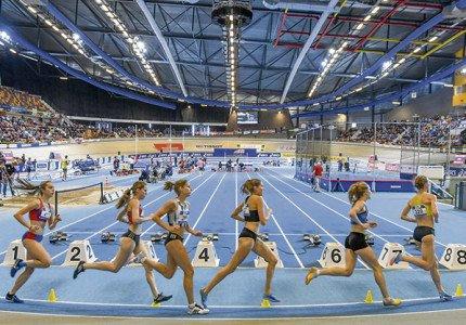 Atletiektop start in Omnisport