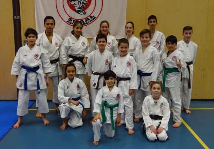 Negen prijzen voor Karate-do Smaal tijdens NK