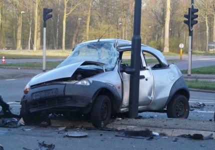 Ernstig ongeval Anklaarseweg/Laan van Zevenhuizen