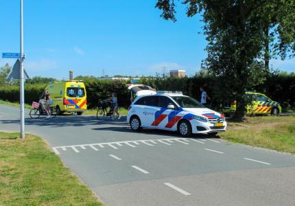 Oudere man raakt gewond bij aanrijding in Apeldoorn