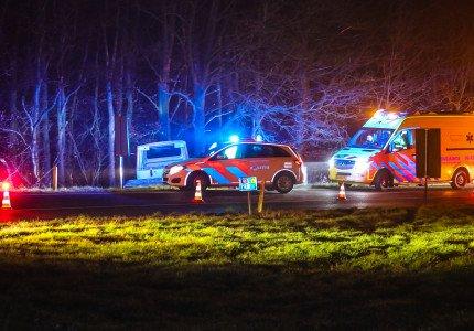 Ernstig ongeval in bocht van afrit A1 bij Ugchelen