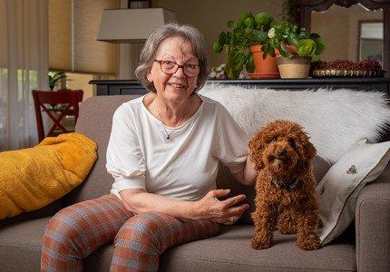 Een oppashond voor senioren is gezellig èn gezond