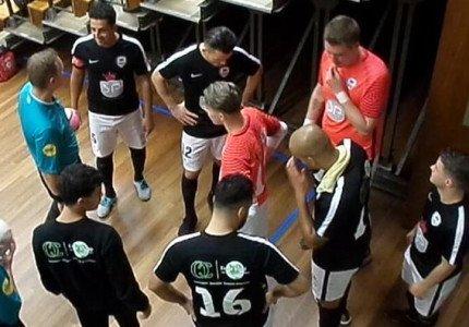 Samir Makhoukhi zet WSV's zaalvoetballers goed neer