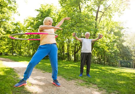 Senioren week lang in beweging