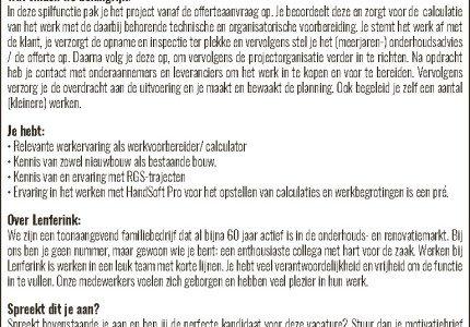 Projectorganisator Deventer