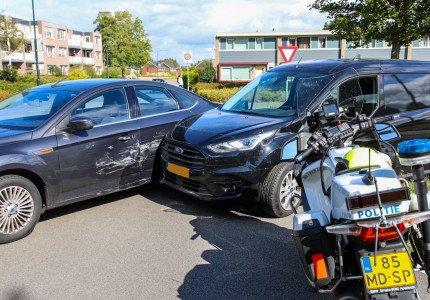 Zwangere vrouw blijft ongedeerd bij ongeval aan Laan van Zevenhuizen