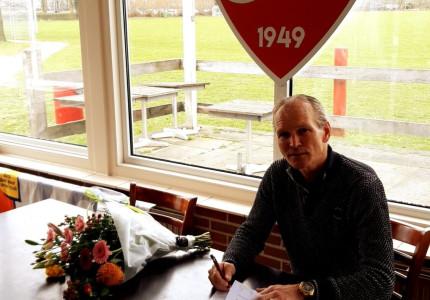 Hans Wijgers nieuwe hoofdtrainer sv V en L