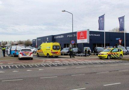 Gewonde(n) bij ongeval op de Matenpoort in Apeldoorn