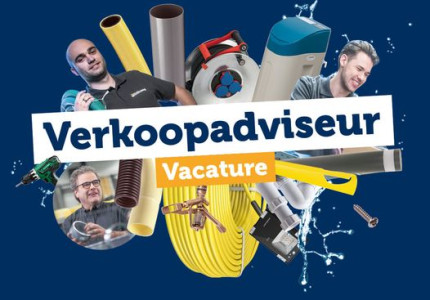 Vacature Verkoop Adviseur m/v