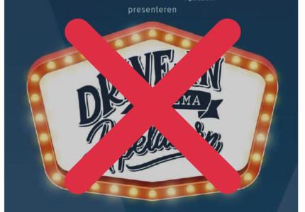 Drive-In Cinema Apeldoorn afgelast
