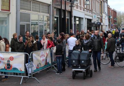 Grote drukte bij voorverkoop Deventer Stadsfestival