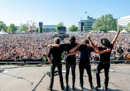 Nieuwe avonturen vervangen afscheidstournee van Sallandse rockband Bökkers
