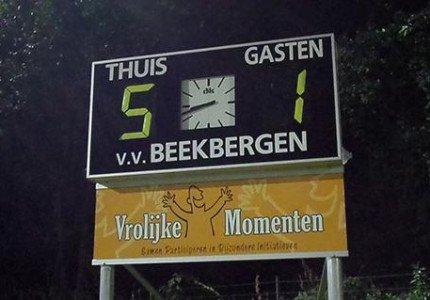Voor Beekbergen en WWNA is de kous nu definitief af…