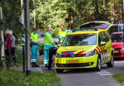 Wielrenner gewond na botsing in Beekbergen