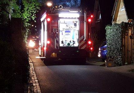 Schoonsteenbrand aan de Havikstraat in Apeldoorn