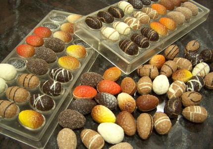 Chocolade van begin- tot eindproduct