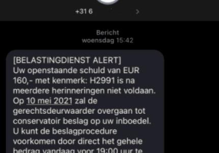 Belastingdienst waarschuwt Gelderlanders voor valse berichten via e-mail, whatsapp en sms