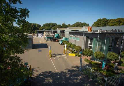 Nieuwe weegbrug en kantoor voor Van Gerrevink