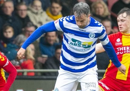 Streep door duel Go Ahead Eagles – De Graafschap